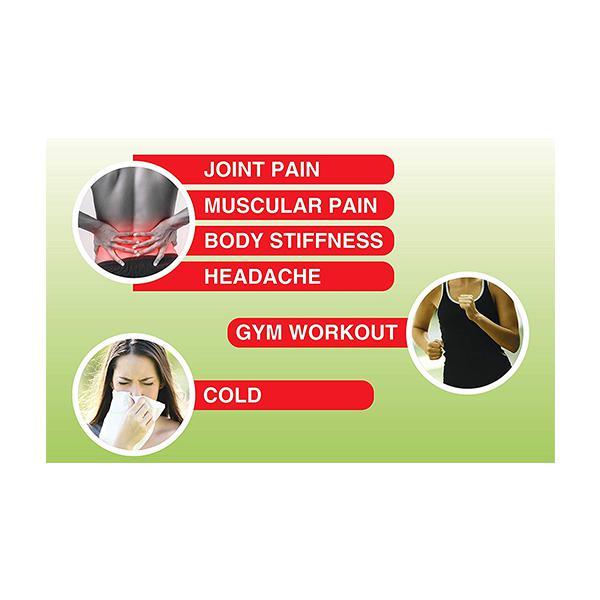GreenKure Pain Relief Ayurvedic Oil Bottle Combo (Pack of 12 x 8 ml)