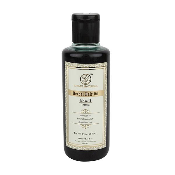 Khadi Natural Herbal Hair Oil - Trifala 210 ml