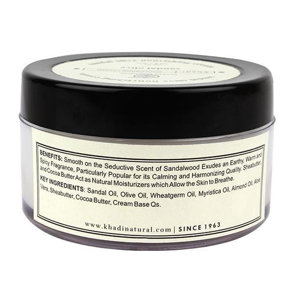 Khadi Natural Nourishing Cream - Sandal & Olive 50 gm