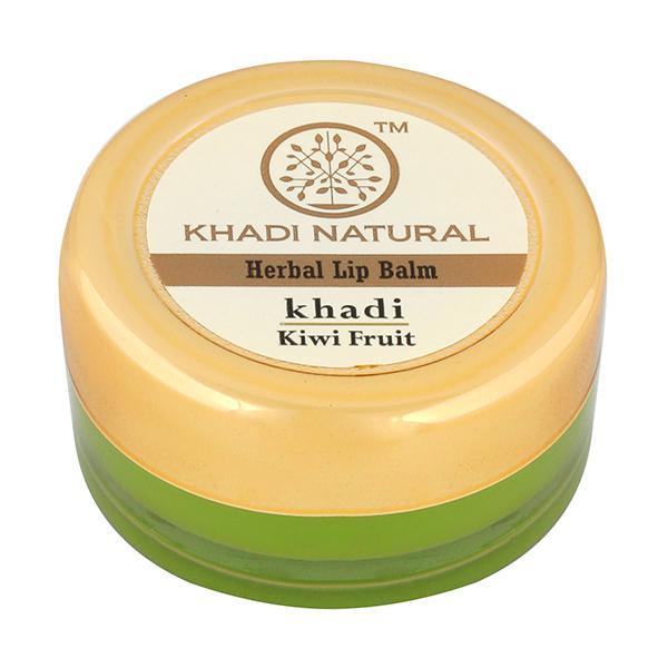 Khadi Natural Herbal Lip Balm - Kiwi Fruit 5 gm