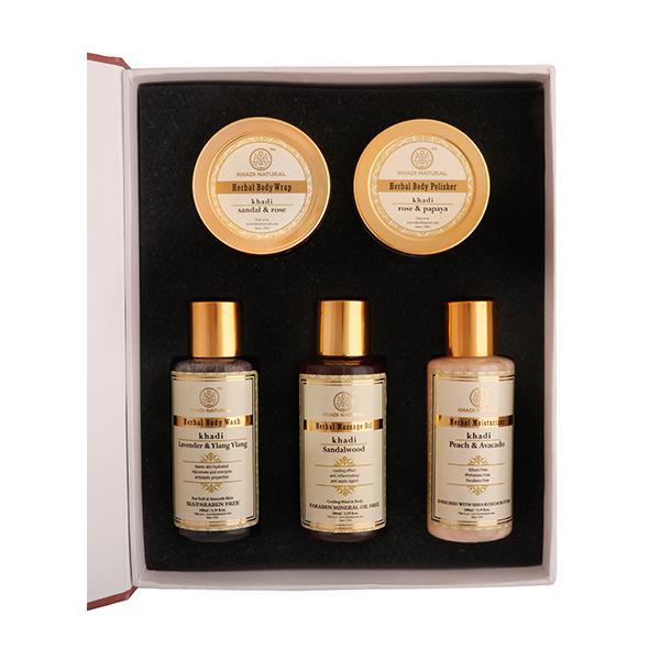 Khadi Natural Luxury Spa Kit 1 Box