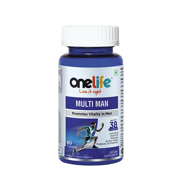 Onelife Multi Man (Promotes Vitality) Tablet 60's