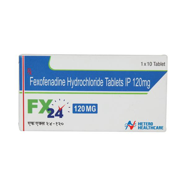 FX 24 120mg Tablet 10'S