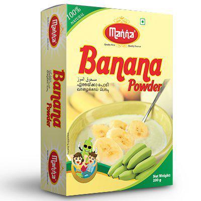 Manna Banana Powder 200 gm