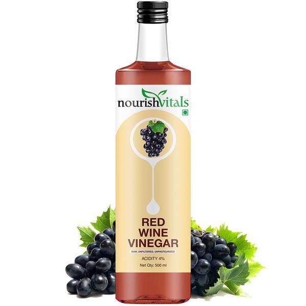 NourishVitals Red Wine Vinegar 500 ml