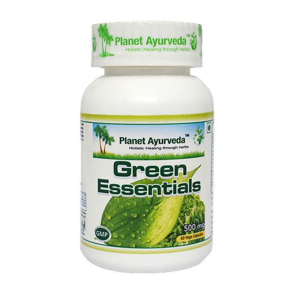 Planet Ayurveda Green Essentials Capsules 60's