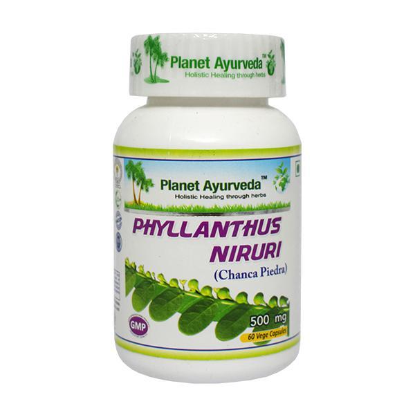 Planet Ayurveda Phyllanthus Niruri Capsules 60's