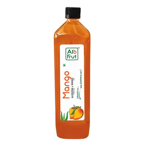 Axiom Alofrut Mango Aloevera Juice 1 ltr