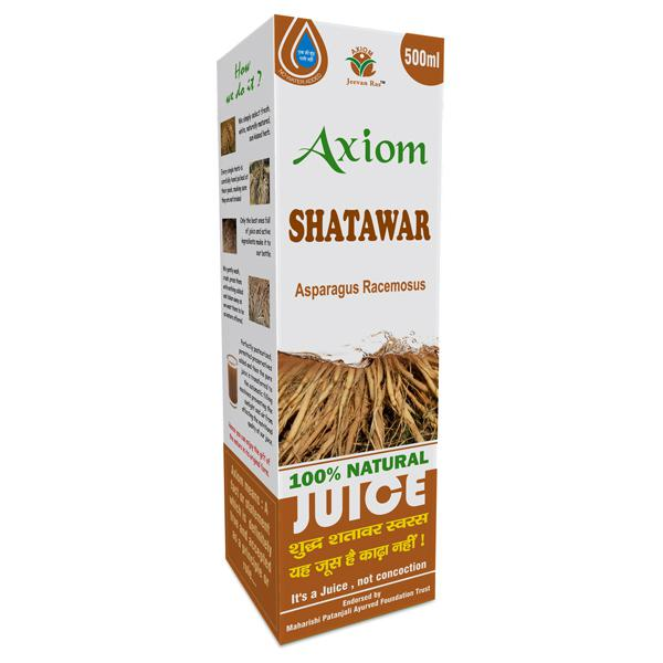 Axiom Jeevan Ras Shatawar Juice 500 ml