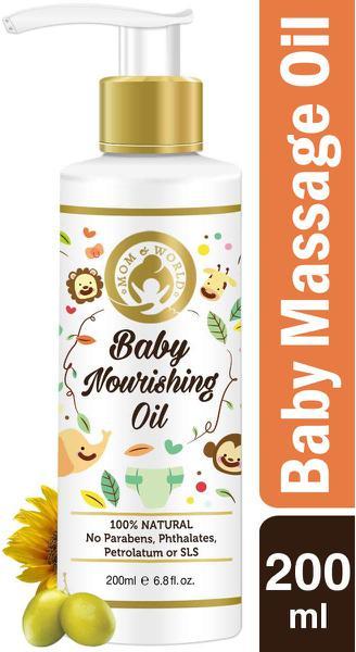 Mom & World Baby Nourishing Oil for Baby Massage 200 ml