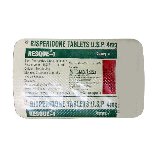 Resque 4mg Tablet 10'S