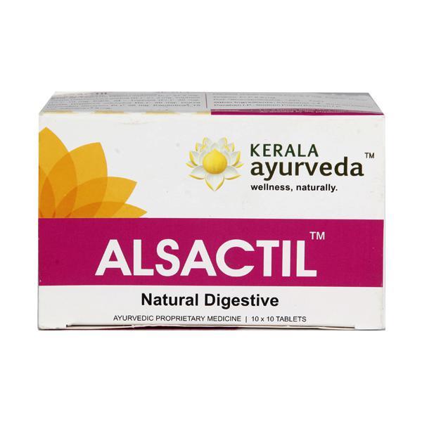 Kerala Ayurveda Alsactil Tablet (Pack of 10 x 10's)