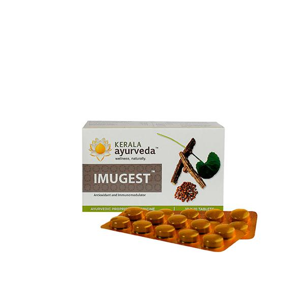 Kerala Ayurveda Imugest Tablet (Pack of 10 x 10's)
