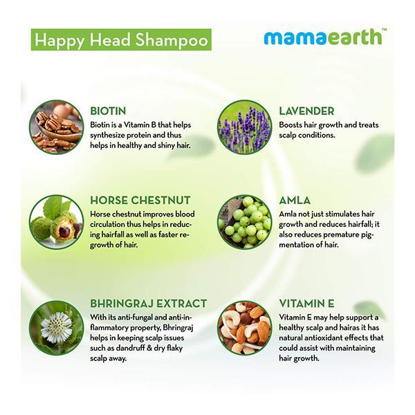 Mamaearth Happy Heads Shampoo 200 ml