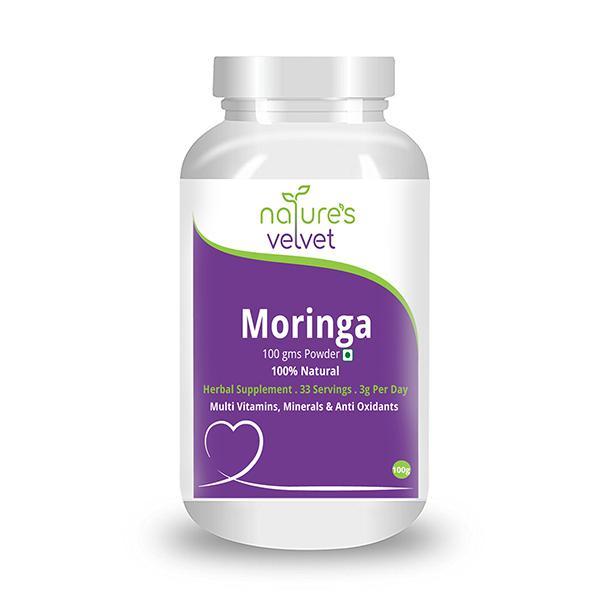 Natures Velvet Moringa Leaf Powder 100 gm