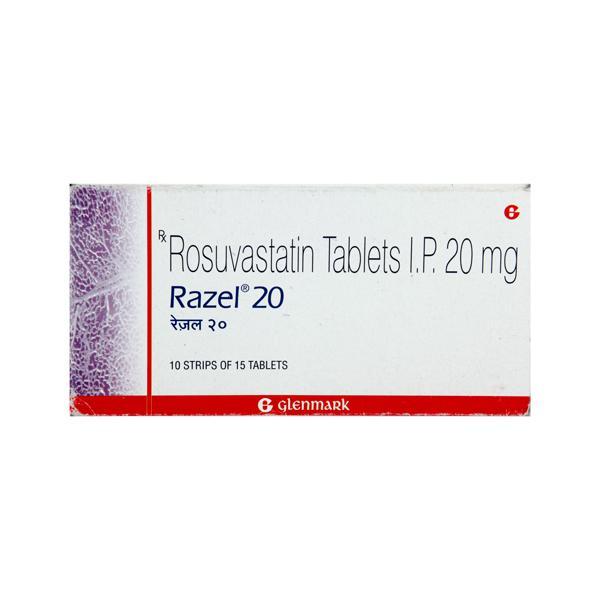 Razel 20mg Tablet 15'S