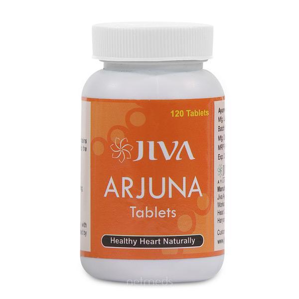 Jiva Ayurveda Arjuna Tablets 120's