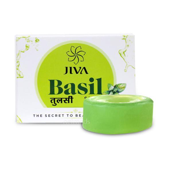 Jiva Ayurveda Bathing Soap - Basil 100 gm