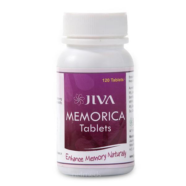 Jiva Ayurveda Memorica Tablets 120's