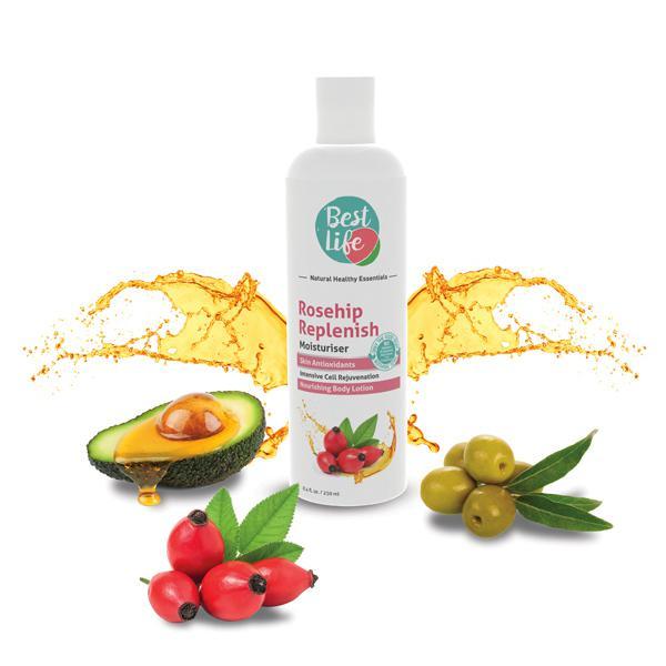 Best Life Rosehip Replenish Moisturiser 250 ml