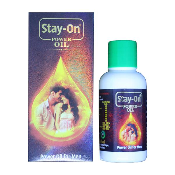 Stay-On Combo Pack of Power Oil & Oral Liquid for Men