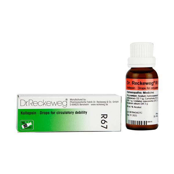 Dr. Reckeweg R67 Kollapsin Drops 22 ml
