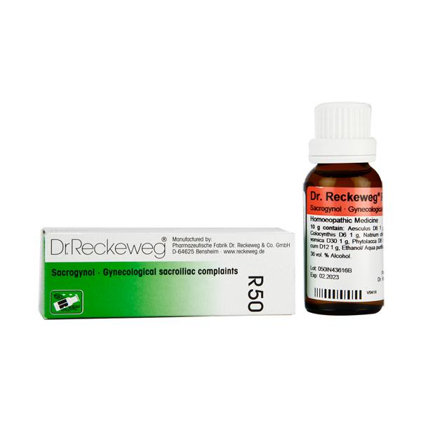 Dr. Reckeweg R50 Sacrogynol Drops 22 ml