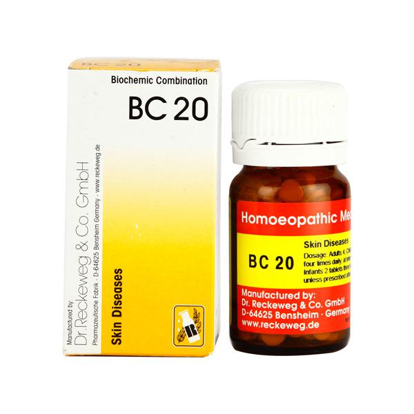 Dr. Reckeweg BC 20 Tablet 20 gm