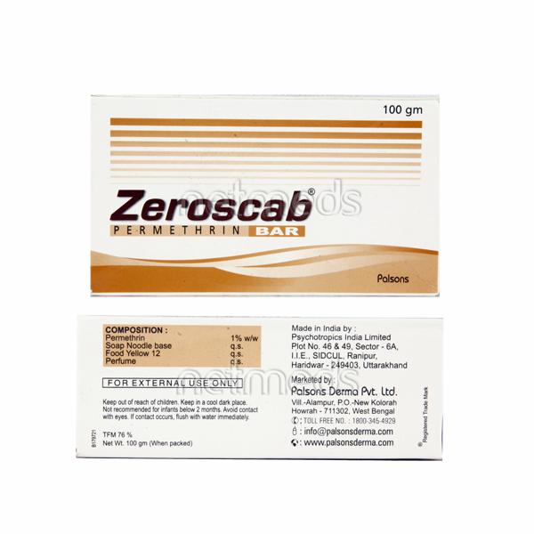 Zeroscab Bar 100gm