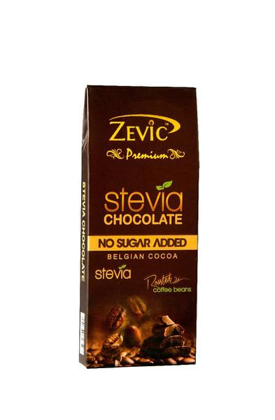 Zevic Premium Stevia Chocolate - Roasted Coffee Beans 40 gm