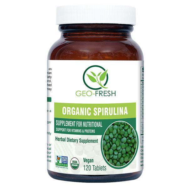 Geo-Fresh Organic Spirulina Tablet 120's