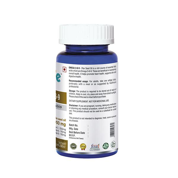 Onelife Omega 3-6-9 Softgel 60's