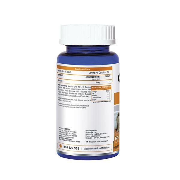 Onelife Sleep Tight Melatonin 5 mg Tablet 60's