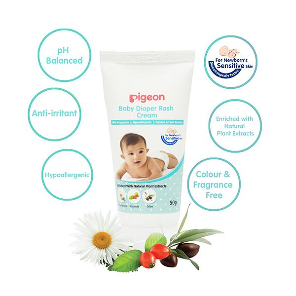 Pigeon Baby Diaper Rash Cream Combo