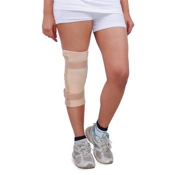 Wellon Elastic Knee Support Hinged - Tubular (L)