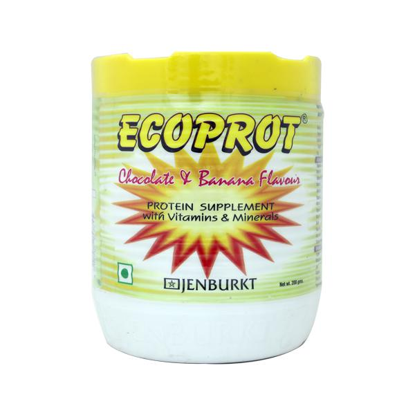 Ecoprot Chocolate And Banana Flavour Powder 200gm