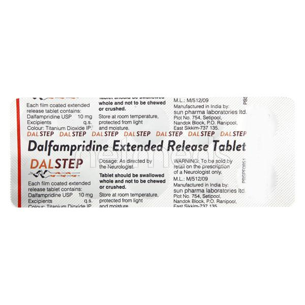 Dalstep 10mg Tablet 10'S