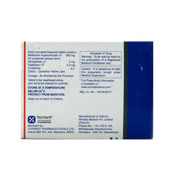 Azulix MV 2/0.3mg Tablet 10'S
