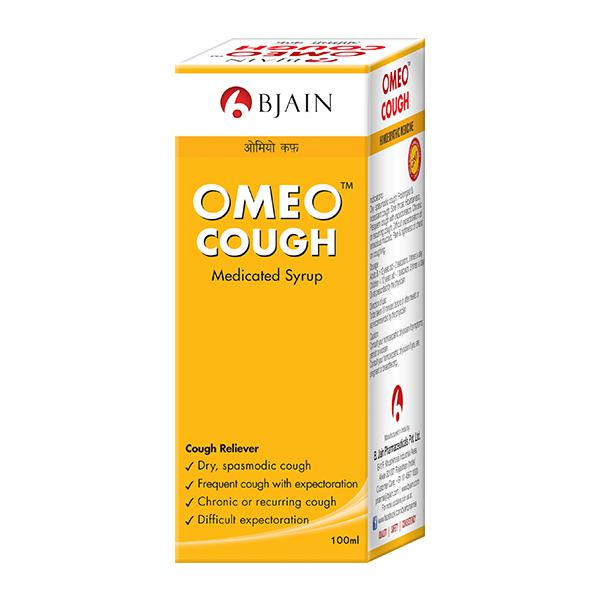 Bjain Omeo Cough Syrup 100 ml