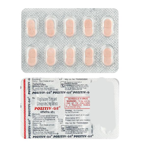 Pozitiv G 2mg Tablet 10'S