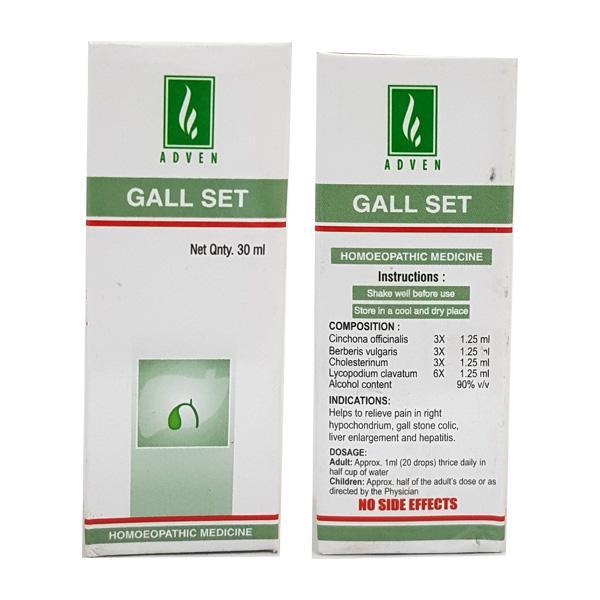 Adven Gall Set Drops 30 ml