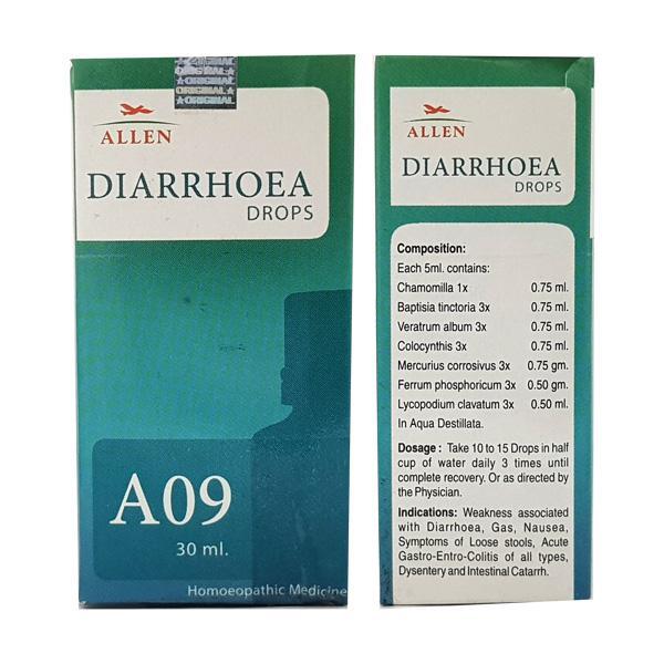 Allen A09 Diarrhoea Drops 30 ml
