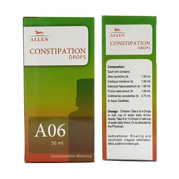 Allen A06 Constipation Drops 30 ml