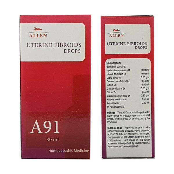 Allen A91 Uterine Fibroids Drops 30 ml