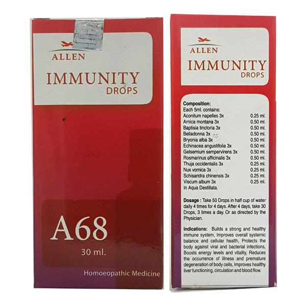 Allen A68 Immunity Drops 30 ml