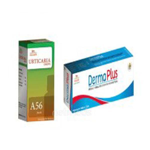 Allen Anti Urticaria Combo Pack (A56 + Derma Plus Cream)