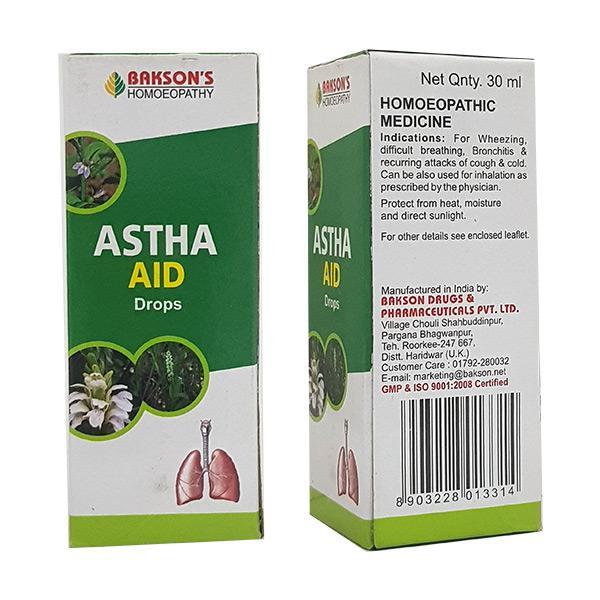 Bakson's Astha Aid Drops 30 ml