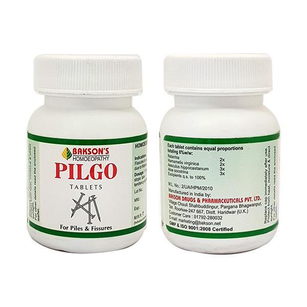 Bakson's Pilgo Tablet 75 gm