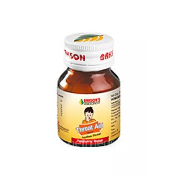 Bakson's Throat Aid Paediatric Tablet 25 gm