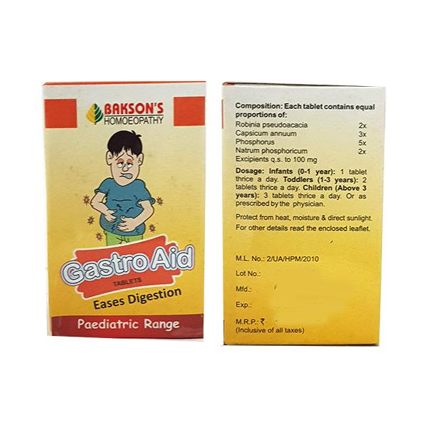 Bakson's Gastro Aid Paediatric Tablet 25 gm